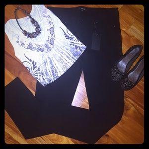 NWT Plus Size Active USA Skinny Black Pant